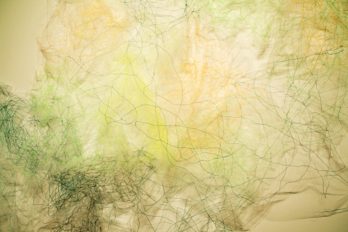 3. Thought Gesture-Green detail 2